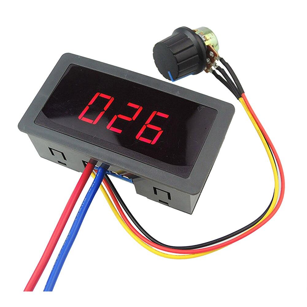 Motor DC de Control de velocidad controlador PWM 6 V-30 V 5A 13KHz pantalla Digital