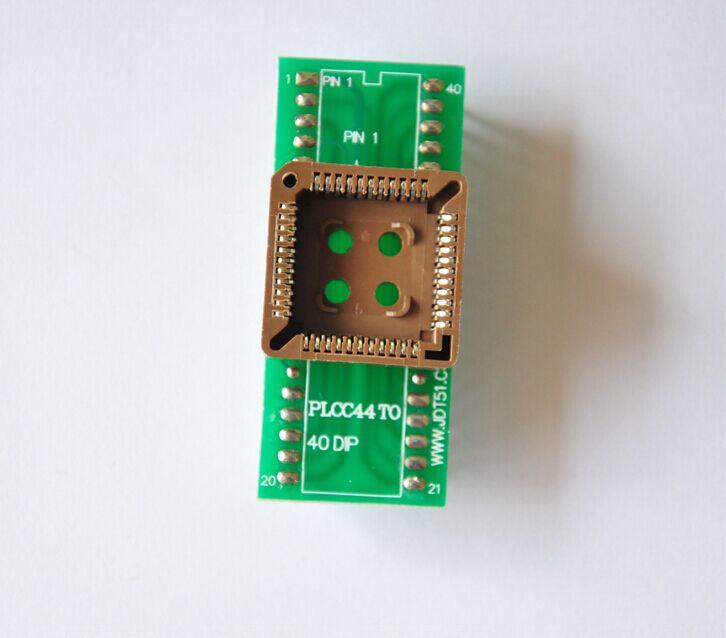 Adaptador de enchufe PLCC44-DIP40 para TNM5000/TNM2000 USB Universal IC nand flash programador