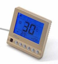 Room digital temperature controller thermostat Panel color golden
