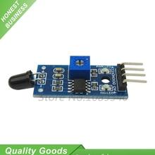 10 pièces Module de capteur de flamme détecteur de température de flamme détecteur Smartsense détecteur dincendie Module récepteur infrarouge 4PIN kit de bricolage