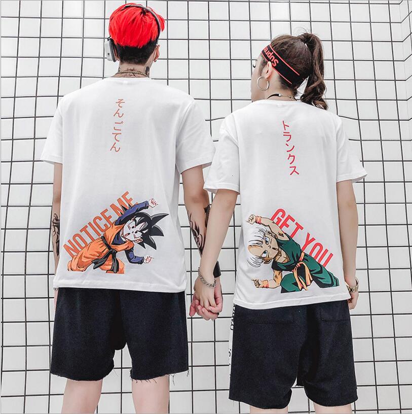 Camiseta de Dragon Ball DBZ Bulma Super Saiyan, camiseta de Vegeta para hombre y mujer, camiseta de Anime para chico, Goku, Gohan, camiseta Japa Harajuku Lonzo Ball, camisetas