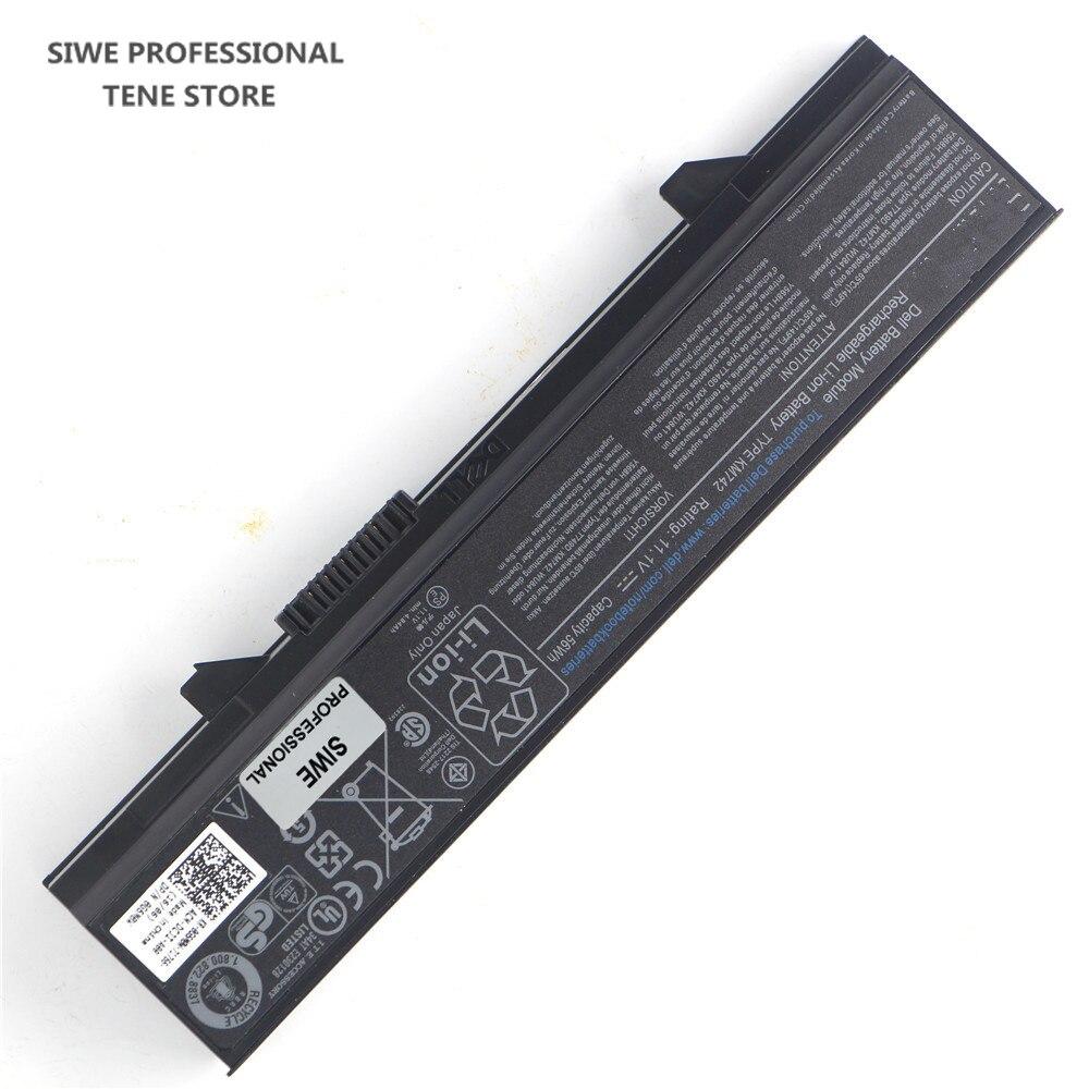 11,1 В 56wh Оригинальный аккумулятор для ноутбука KM742 для dell Latitude E5400 E5410 E5500 E5510 0RM668 312-0762 312-0769 312-0902 451-10616