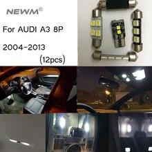 Kit de lumières intérieures Canbus 12 pièces   Pour Audi A3 8P (2005-2013)