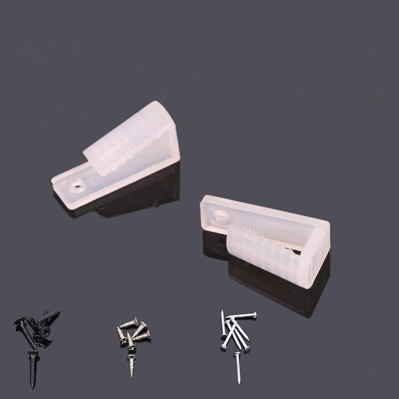 Acessórios Fecho Fivela Prendedor fixa Braçadeira para 5050/3528/2835/5730 LED Strip Lâmpada Luz Acessório