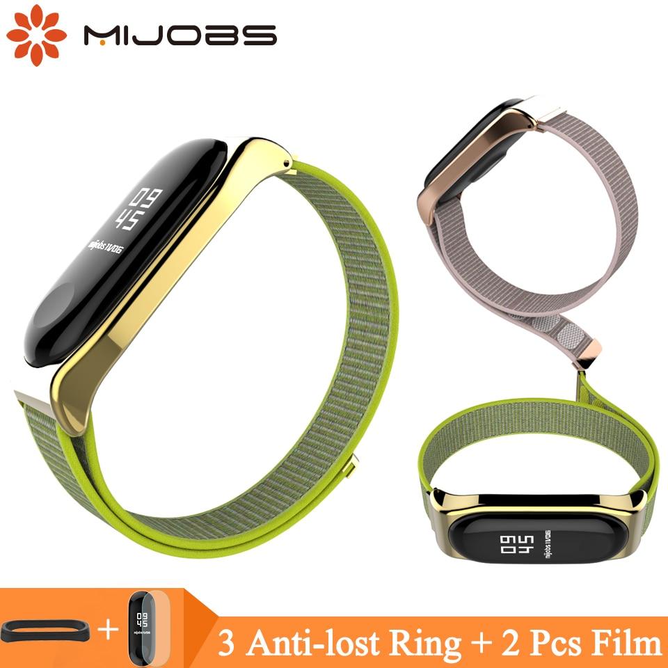 Nylon Wrist Strap for Xiaomi mi band 4 Bracelet Correa Mi Band 4 Strap for Xiaomi Miband 3 Smart Watch Accessories Pulseira