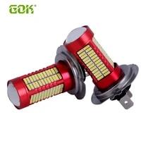 50 x h4 h8 h11 9005 9006 h7 smd 4014 led h7 106smd led bulb running light 6000k white car fog lamp led headlight