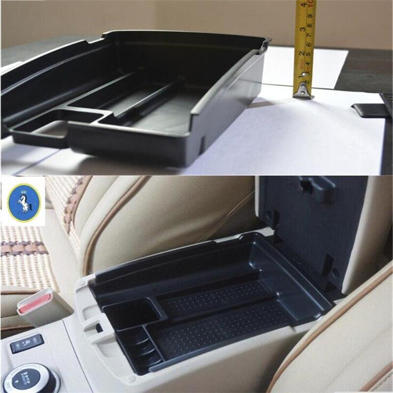 Compartimento de almacenamiento Central para compartimento de reposabrazos para Nissan x-trail X trail T32 Rogue 2017 - 2020 plástico Yimaautotrims