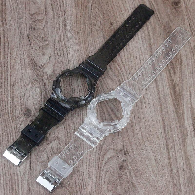 Accesorios para reloj de hombre correa de resina para Casio G-SHOCK GD120 GA100 GA110 GD110 Correa deportiva impermeable para mujer