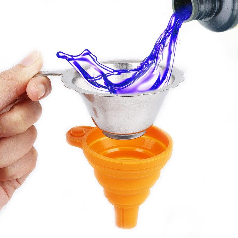 Металлическая УФ-смола фильтр чашка + силиконовая воронка одноразовые для ANYCUBIC Photon SLA 3D принтер аксессуары