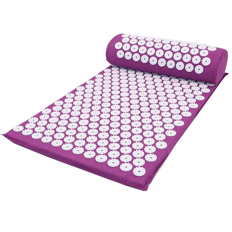 Cojín masajeador de alta calidad para akti acupresión, colchoneta de acupuntura para yoga mata/Unidad, producto en oferta