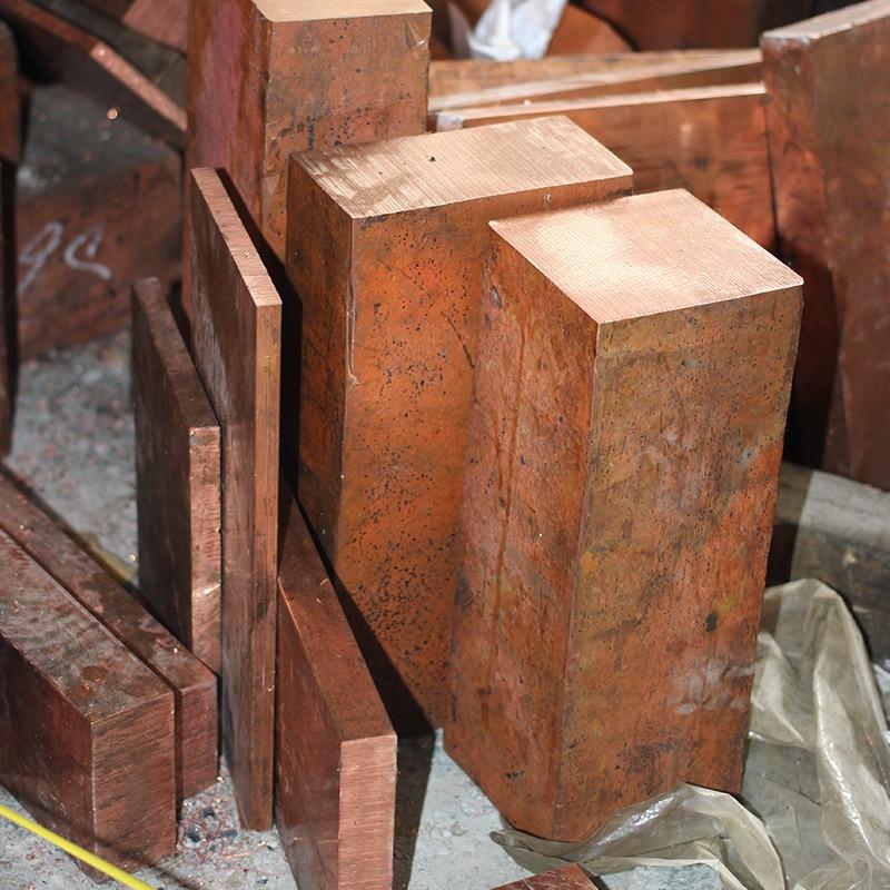 1PCS  YT1368 Copper Row 15*20*100mm  Copper Stick  Free Shipping  Sell at a Loss T2 Copper Bar  Copper Billet  TMY  Copper Block