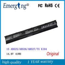 Batterie pour ordinateur portable, 14.8V, 41wh, pour HP Pavilion 15 Gaming NB 14 15 KI04 TPN-Q158 Q159 Q160 Q161 Q162 WASD
