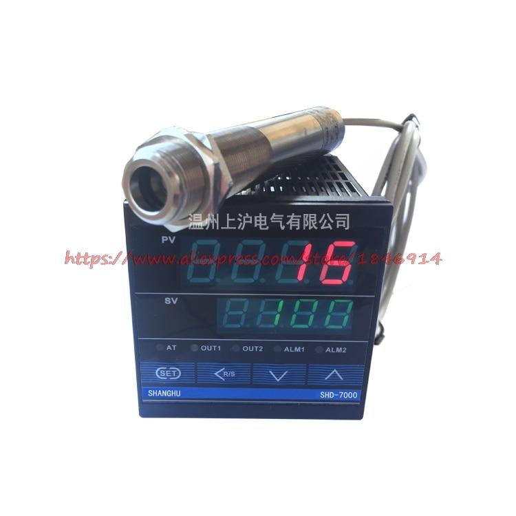Graus de Ponta de Prova Infravermelha do Sensor de Temperatura do Não Contato com Tabela de Controle de Temperatura 0-1800