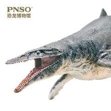 Pnso Mosasaurus Dinosaur Koning Museum Wetenschap Model Gift Toy