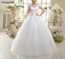 Manches courtes en dentelle femmes blanc robes en dentelle florale grande taille robe femme V Zip dos rouge robe de fête
