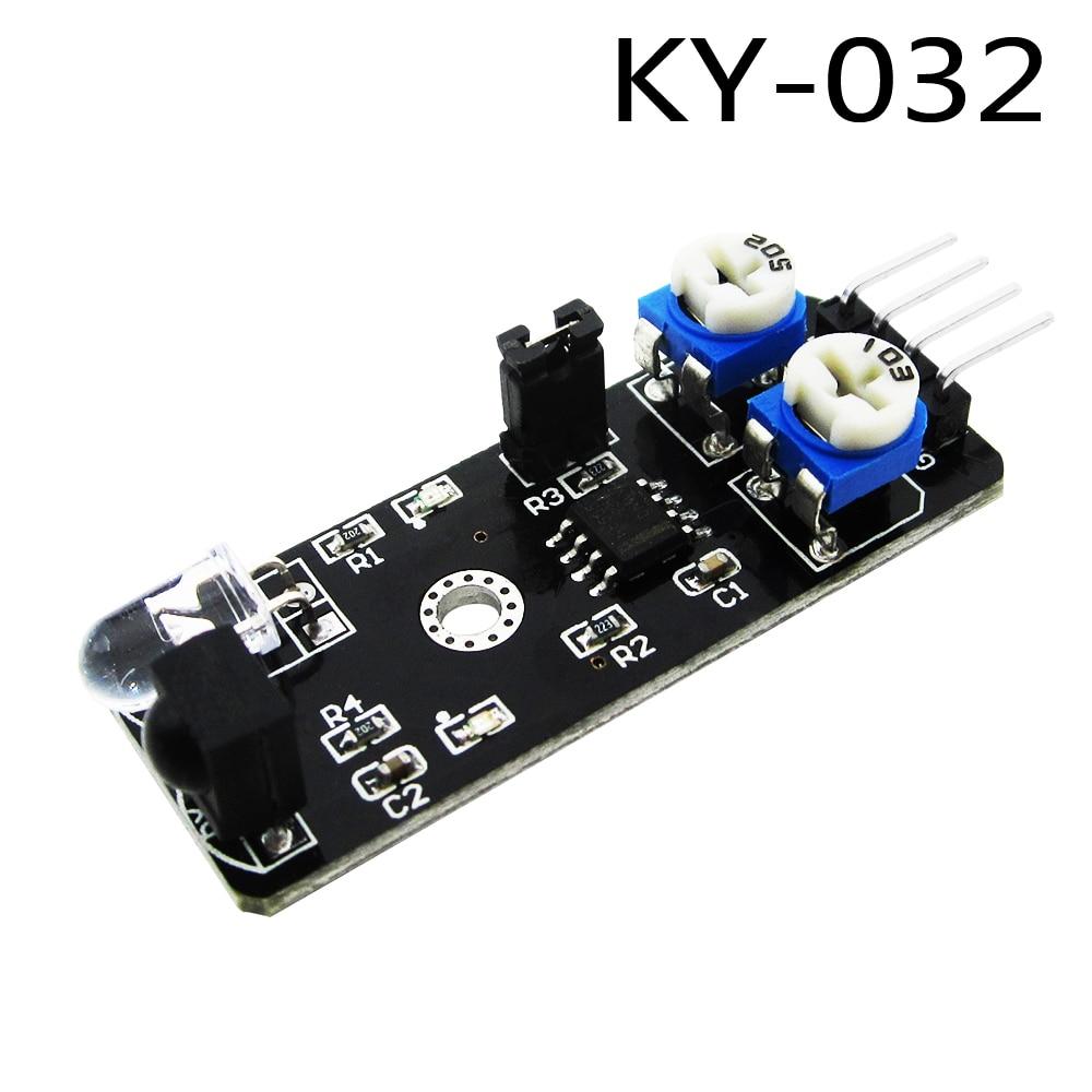 10pcs/lot KY-032 4pin IR Infrared Obstacle Avoidance Sensor Module for Diy Smart Car Robot KY032