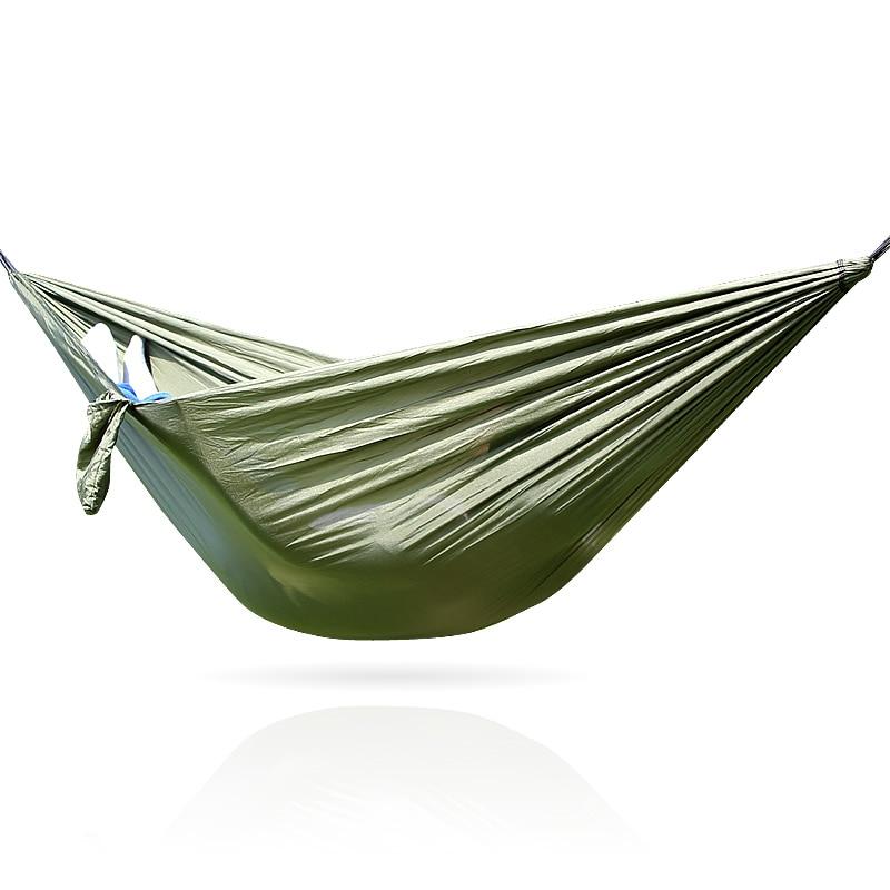 Hammak Única pessoa parachute tecido hammock hamaka hammack exército parachute