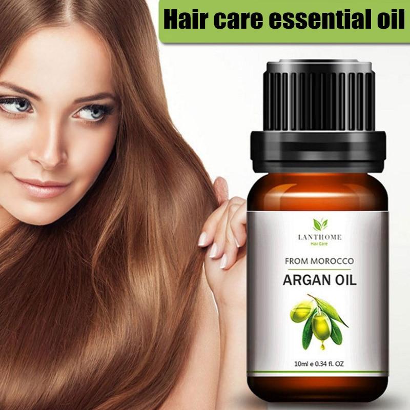 ¡Novedad de 2018! Aceite para el cuidado del cabello, tratamiento para el cuero cabelludo, aceite de argán puro marroquí para cabello seco dañado