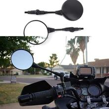 Miroir de rétroviseur pliant moto   Universel, croix arrière, vtt UTV E-Bike rétro moto 8mm/10mm, accessoires