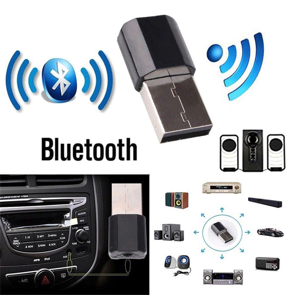 Mini Bluetooth Audio AUX Car Receiver Adapter for Mercedes W204 W210 AMG Benz Bmw E36 E90 E60 Fiat 500 Volvo S80