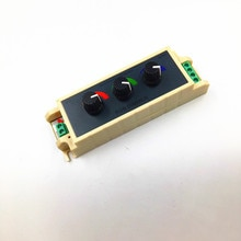 Led RGB Dimmer LED strip controller 3A for each color Common anode  for RGB 3528 5050 5630 2835 DC 12V 24V