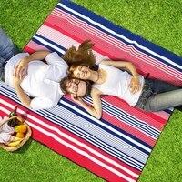 waterproof folding picnic mat beach mat outdoor camping beach moisture proof blanket portable camping mat hiking beach pad