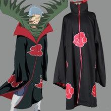 Unisex cosplay trajes japão anime naruto itachi/akatsuki cosplay vestes trajes de festa manto