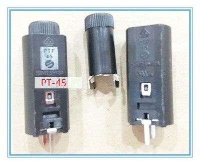 Envío gratis 10 Uds PT-45 portafusibles con plomo vertical 5*20 encabezado/seguro/buena calidad/alta temperatura/baquelita/portafusibles