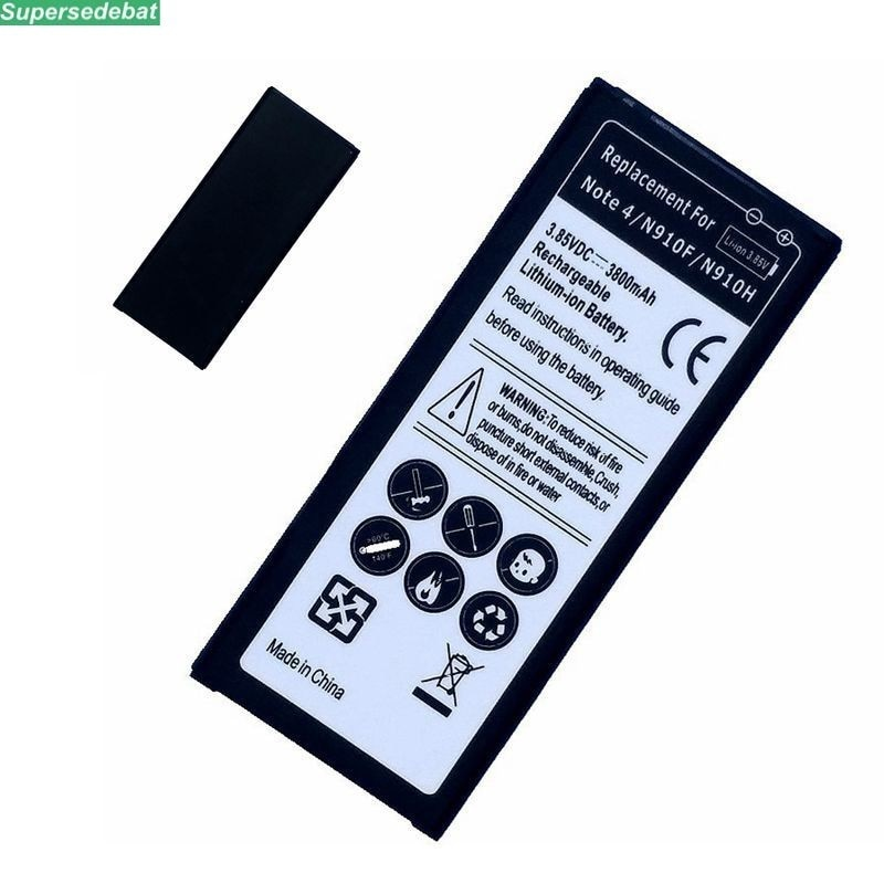 EB-BN910BBE EB-BN910BBK de la batería para Samsung Galaxy Nota 4 N910F N910H...