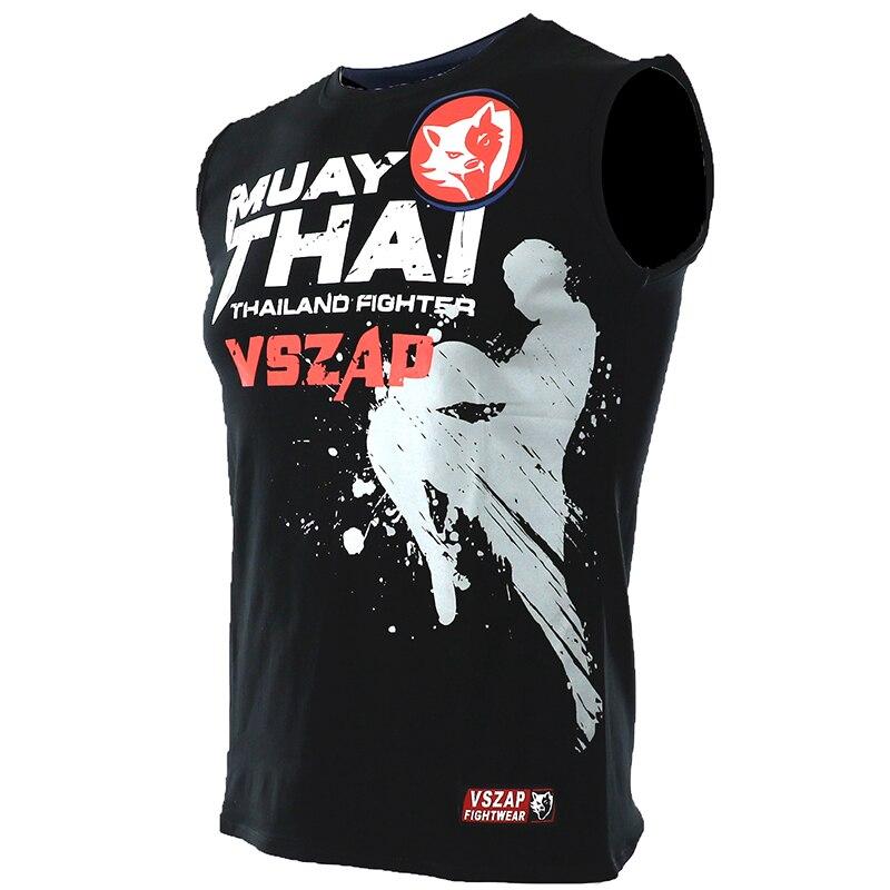 Боксерская Одежда Для MMA тренажерного зала кикбоксинга муай тай бокса рубашки