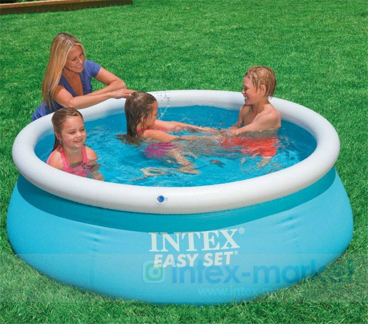 Kingtoy Home Kid Large Inflatable Swimming Pool Big PVC Child Water Pool 183x51cm 1-3 person Toy