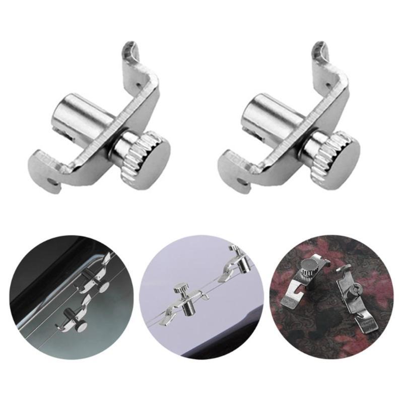 4pcs/set 17x12x 5mm Professional Precision Erhu Fine Tuner String Turning Adjustment Violin Parts & Accessories