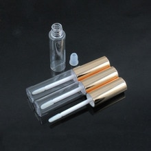 Tube de brillant à lèvres vide contenants de brillant à lèvres Rectangle emballage de vernis à lèvres contenants de brillant à lèvres avec brosse 8 ML 50 pcs/Lot