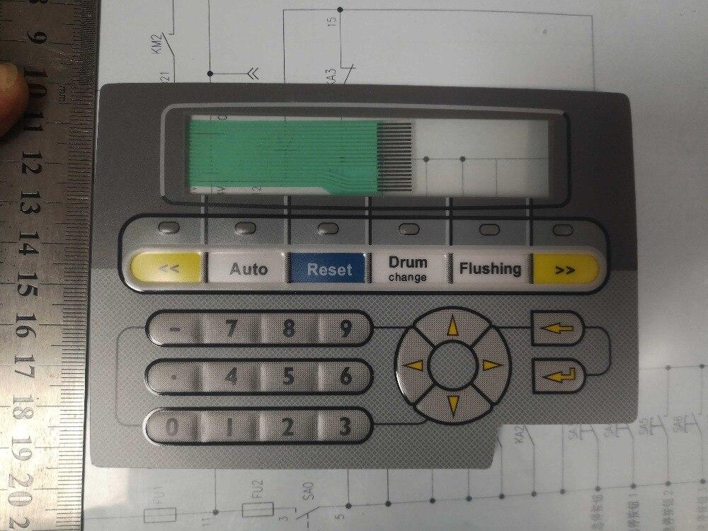 بيجر-لوحة مفاتيح غشاء لبيجر ماك ، E1012 ، مفاتيح ، MTA ، E1012