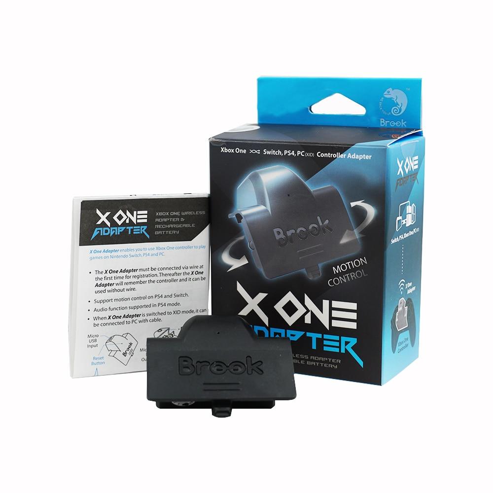 Brook x um adaptador para xbox um/elite para ps4 para nintend switch para ns para pc turbo controlador sem fio & bateria recarregável
