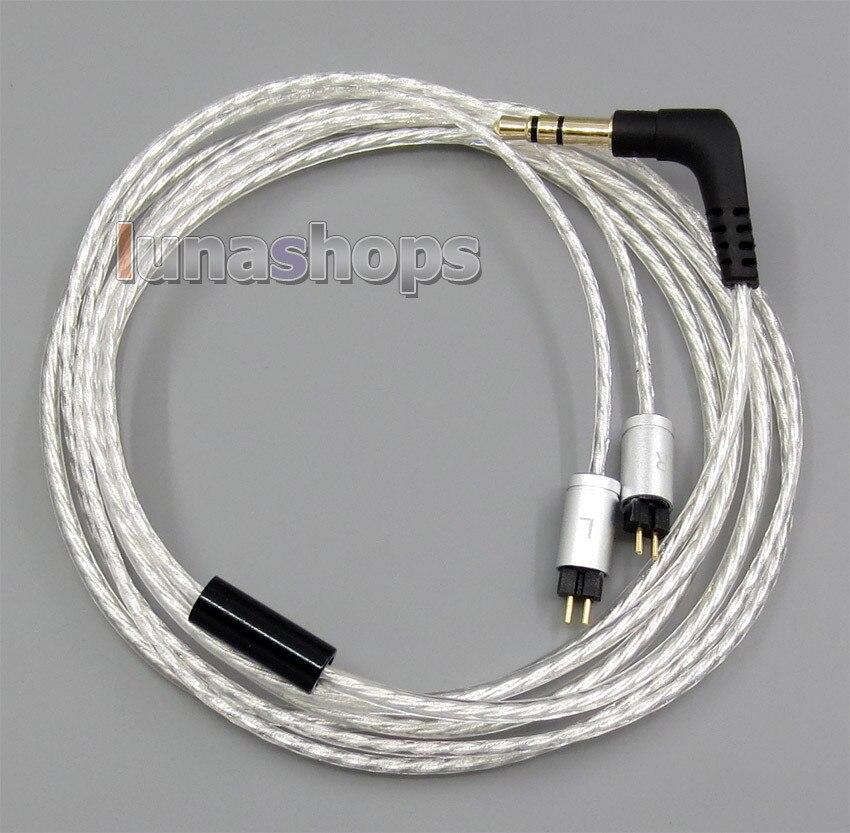 Легкий посеребренный кабель для UM Unique Melody Miracle Merlin Mage Mentor AERO Marvel MASON LN005117