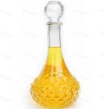 1 pc 500 ml 800 ml 새로운 유리 와인 병 와인 디켄터 디스펜서 컨테이너 위스키 주류 carafe 물 주전자 알코올 디켄터 j1083