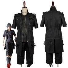 Adulte FF XV FF15 Noctis Lucis Caelum Noct Cosplay Costume tenue mâle femme sur mesure toute taille