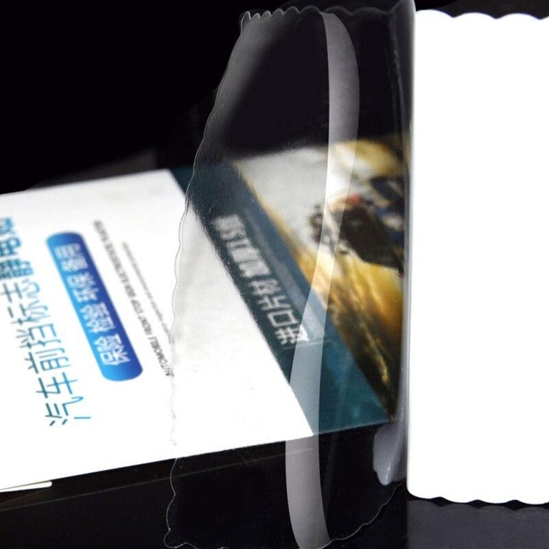 5pcs / set Universal Car Tax Disc Holders Car stickers Auto Electrostatic Stickers Environmental Sticker