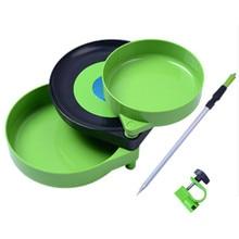 Appât à tirer en plein air avec plateau magnétique Double-boîte de pêche chaise de pêche équipement à Double usage