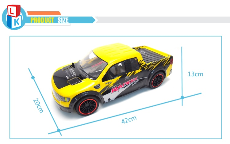 Profession High Speed RC Rracing Car 4 Channels 1:10 Remote Control Car Truck Electric Climbing Wltoys carro de controle remoto enlarge