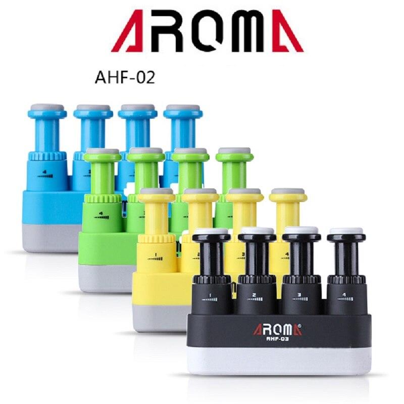 Aroma AHF-02 ejercitador de dedo ejercitador de mano entrenador para niños Junior guitarra Piano ukelele tensión 2lb-3lbs 4 colores disponibles