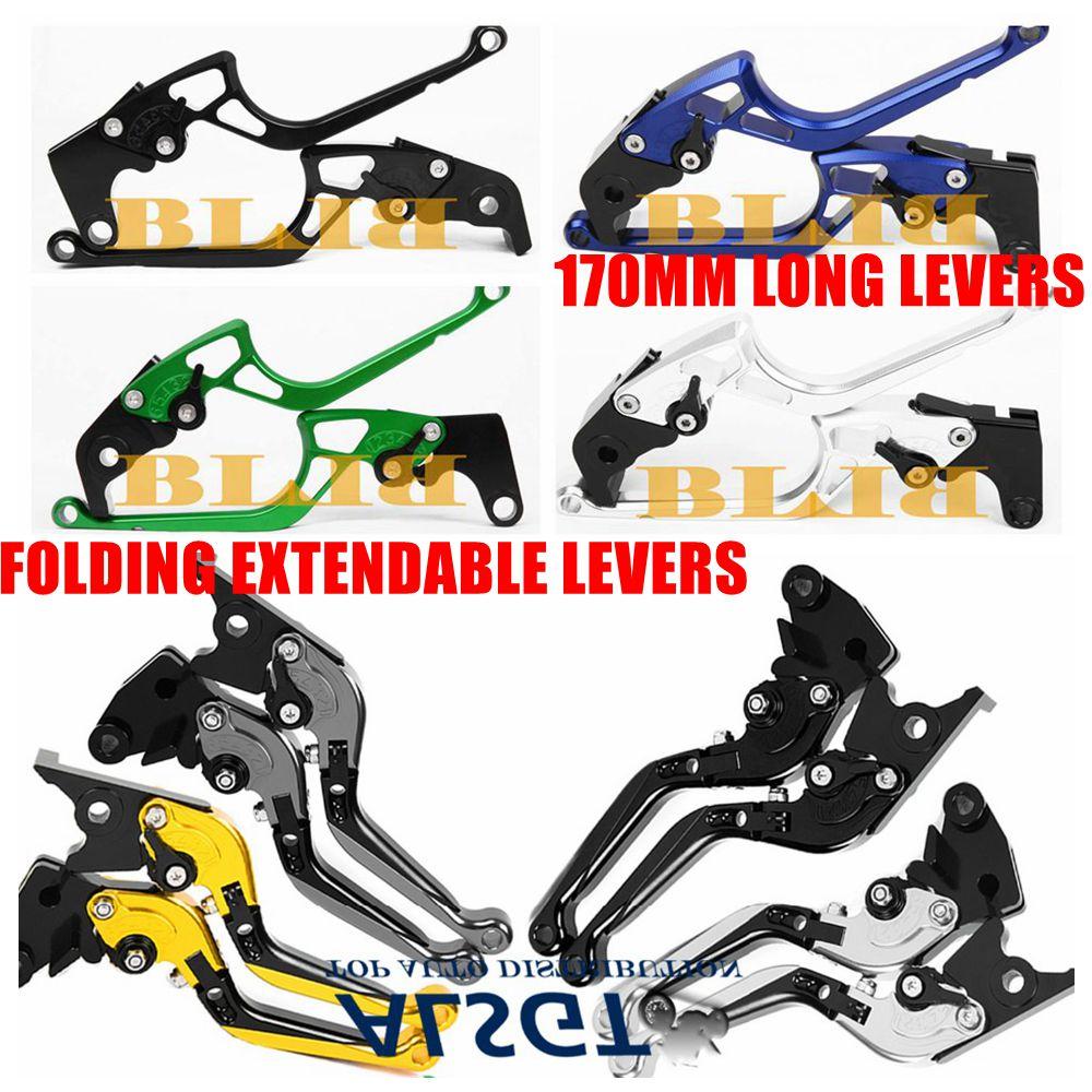 For Honda ntv 650 revere 1990 CNC Motorcycle Folding Extending/170mm Brake Clutch Levers Hot High-quality Moto Foldable Lever
