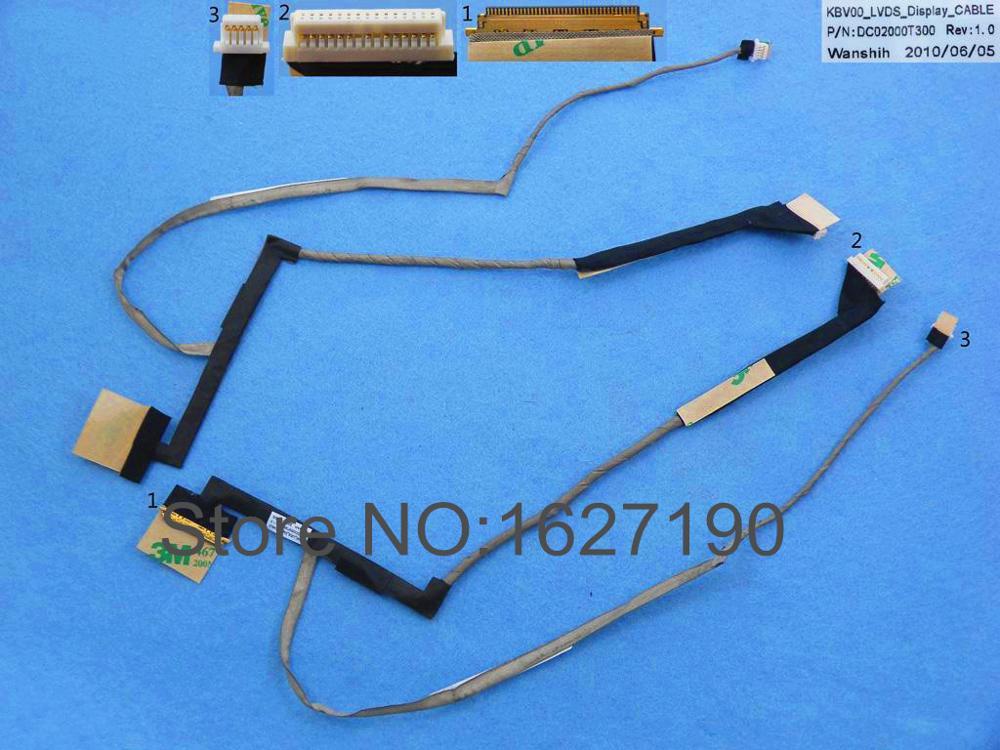 NEUE Laptop Kabel Für HP ProBook 5310 M P/N DC02000T300 Ersatz Reparatur Notebook LCD LVDS KABEL
