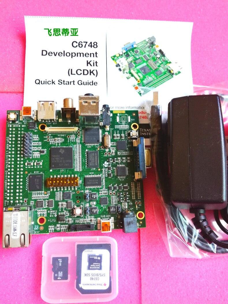 TMDSLCDK6748 TMS320C6748 DSP مجلس إرسال جناح (LCDK)