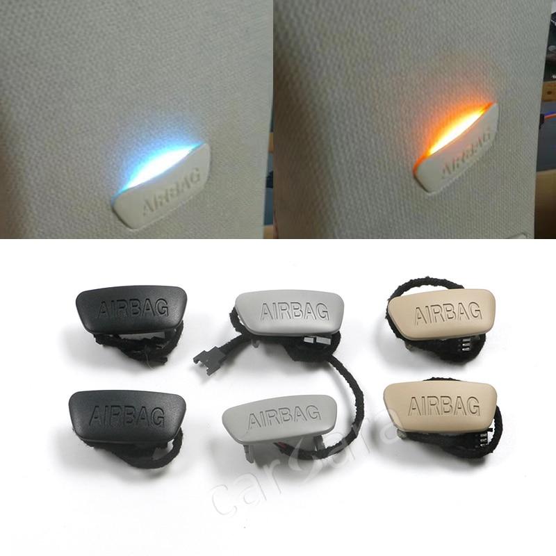 مصباح جانبي B-pillar لسيارات BMW 3 series F30 F35 ، مصباحان ملونان قابلان للتحويل