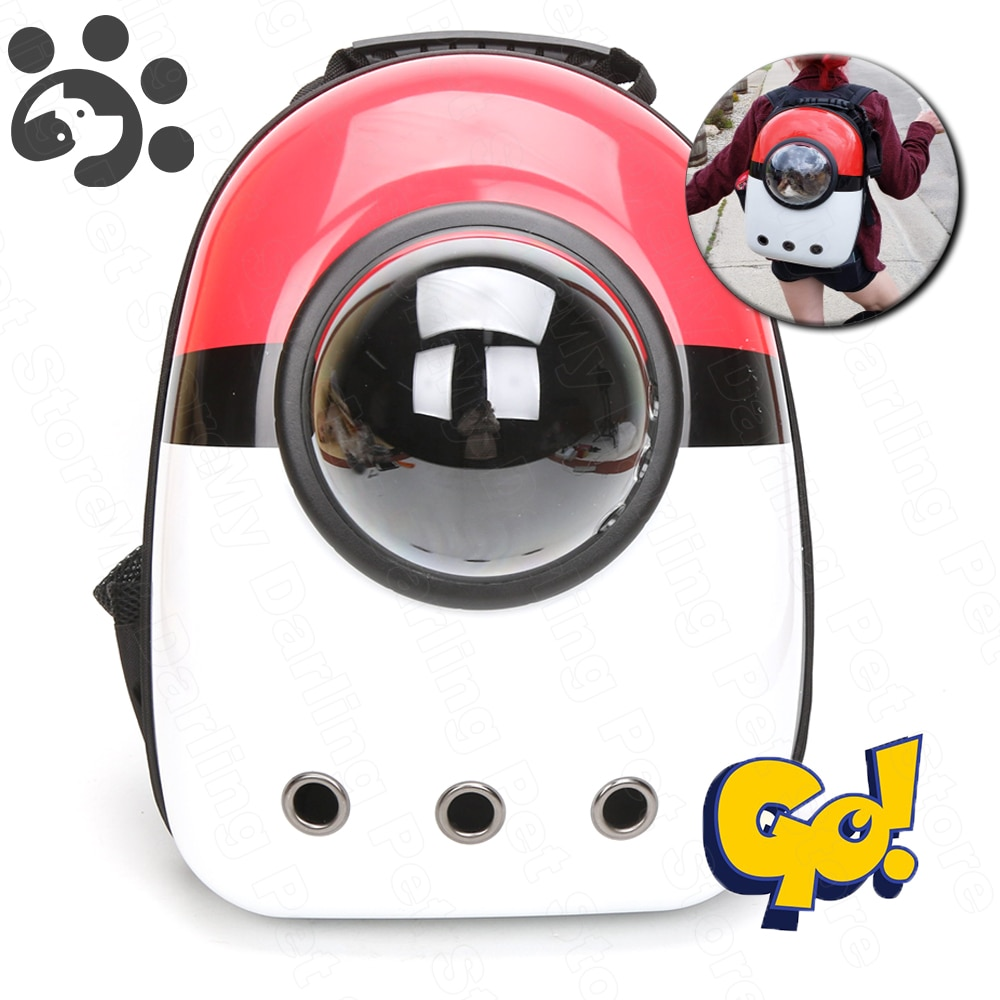Pet Cat Backpack Window Carrier Backpack for Cat With a Window Small Dog Cat Carrier Travel Bag Space Capsule Puppy Pet Product