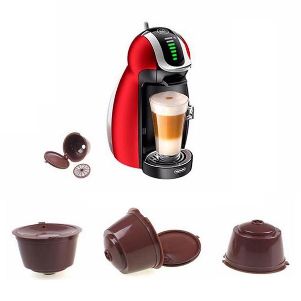 Filtro de café rellenable Dolce Gusto cápsulas de café Nescafe Dolce Gusto cápsulas reutilizables recarga Dolce Gusto accesorios de café