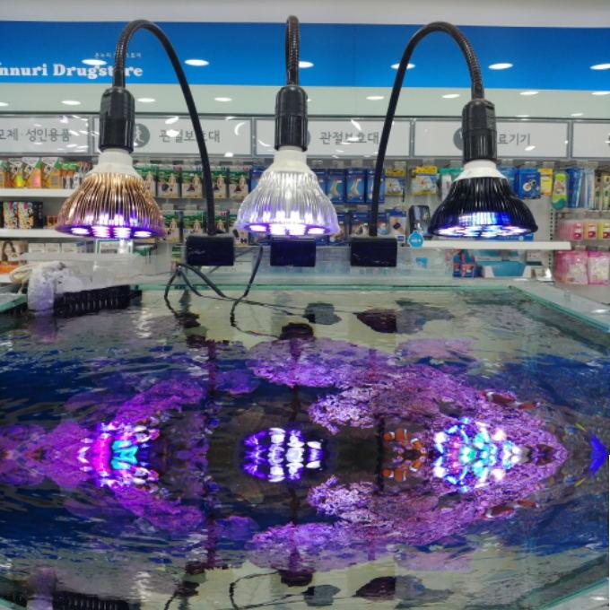 La specturm Luz de acuario LED Bombilla Par 38 E27 para Coral arrecife pescado de agua salada agua dulce Nano tanque de crecimiento de la planta lugar