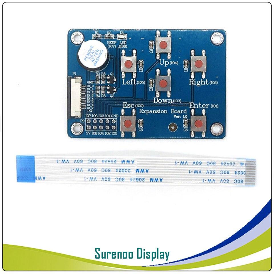 "Placa de expansión O adaptador io Nextion para Módulo de pantalla LCD inteligente HMI USART mejorado de 2,4 ""-7,0"" GPIOs I/O Extend"